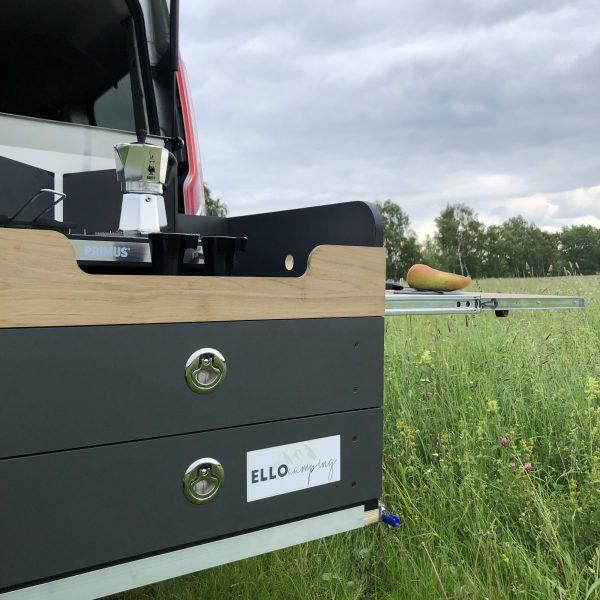 Küchen Box von ELLO Camping.