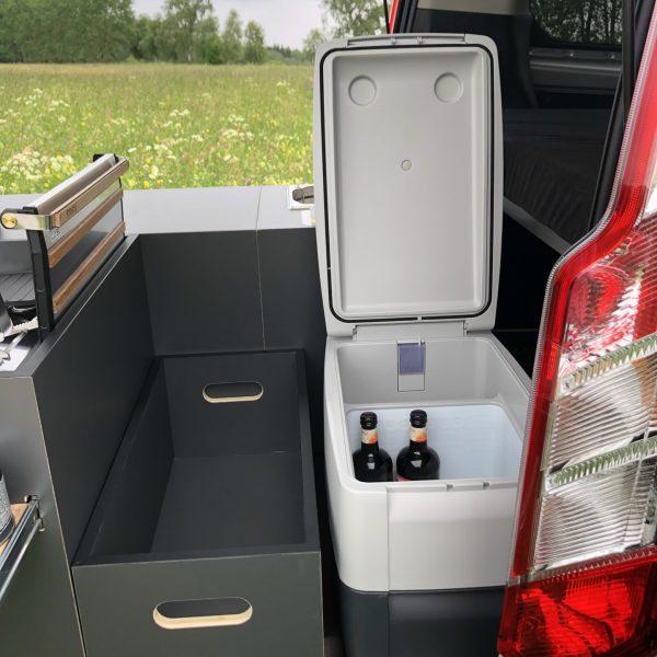 Aufbewahrungsbox & Kühlbox.